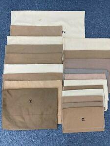 Auth Louis Vuitton Fold Over Dust Bag Set 20pcs BE8-104