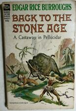 BACK TO THE STONE AGE by Edgar Rice Burroughs  (Frazetta & Krenkel cover) Ace pb