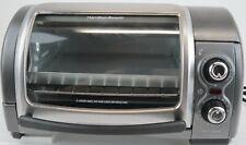 Hamilton Beach 31334z Easy Reach Roll Top Toaster Oven, Pizza Maker, Gray