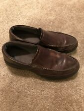 Rockport XCS Men's Leather Dress Shoes - Size 12 - Brown - Used - No Reserve