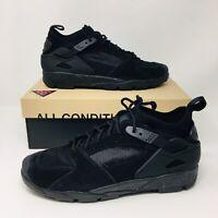 *NEW* Nike Air Max Revaderchi Men Athletic Shoe Triple Black Sneakers Huarache
