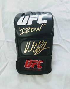 Michael Chandler Signed Glove MMA *PROOF Dana White ESPN Iron Lightweight