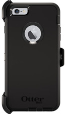 NEW OtterBox Defender Rugged Protection Case Clip for iPhone 6 & iPhone 6S Black