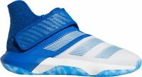 Adidas Men's Harden B/E 3 White Blue Basketball Sneakers Shoes Trainers Size 12