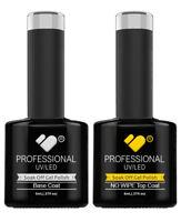 No Wipe Top and Base Coat VB™ Line - UV/LED soak off gel nail polish