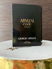 giorgio armani / ARMANI CODE ABSOLU/ probe 1,2 ml.