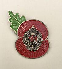 Argyle And Sutherland Highlanders ( ASH ) Poppy Pins-Antique Bronze