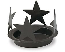Black Star 6.25 Inch Candle Pan By Park Design