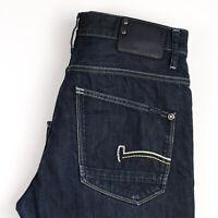 G-Star Raw Herren Gerades Bein Jeans Größe W32 L34 APZ1263