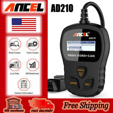 Ancel AD210 OBDII Auto Engine scanner code reader car diagnostic scanner tool