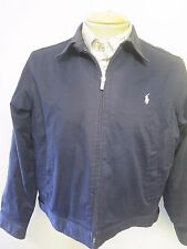POLO Ralph Lauren Zipped Harrington Jacket UK 14/16 Euro 42-44 - Blue