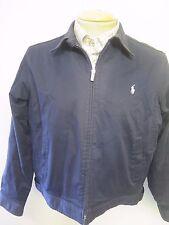 POLO Ralph Lauren Zipped Harrington Jacket UK 14/16 Euro 42-44 - Blue