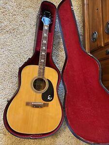 Vintage Epiphone FT-150 Guitar & Carrying Case