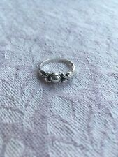 Georg Jensen Ring Moonlight Blossom, Sterling Silber