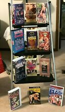 WCW NWA WWE WWF VHS 12 TAPE LOT FALL BRAWL STARRCADE HULK HOGAN RIC FLAIR