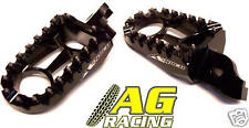 Apico Racing Footpegs Suzuki RMZ 450 2005-2007 Black MX
