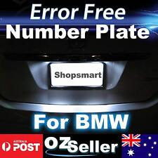 Canbus Number Plate Light Error Free LED Bulbs For BMW M3 E46 Sedan Coupe 98-05
