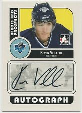 Keven Veilleux 2008-09 ITG In The Game Heroes And Prospects Autographs # AKV