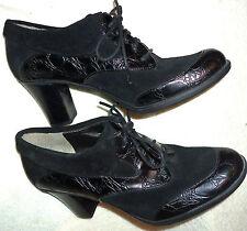 "BNWOB Black Naturalizer N5 Comfort Oxfords, 3"" Heel; Safety Tread"