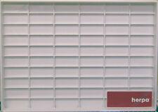 Herpa 029339 PKW Sammelbox (weiß) für 59 Modelle 40cm x 28cm x 3cm NEU OVP