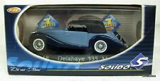 SOLIDO 1/43 - 4048 DELAYAYE 135 M - TWO TONE BLUE DIE-CAST MODEL CAR