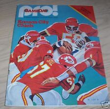 VINTAGE 1981 DENVER BRONCOS VS KANSAS CITY CHIEFS   PROGRAM