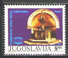 Yugoslavia1982 Sc1588  Mi1948  1v  mnh<P>Federation of Travel Agent`s Congress