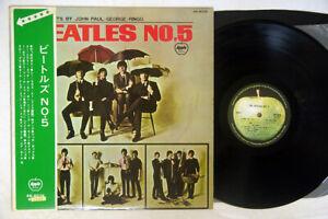 BEATLES NO.5 APPLE AR-8028 Japan OBI VINYL LP