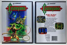 Castlevania 1 - Nintendo NES Custom Case - *NO GAME*