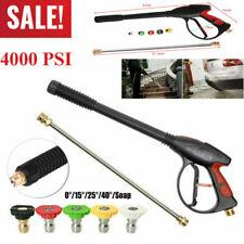 4000PSI M22 Power High Pressure Wash Water Cleaning Spray Gun Lance Hose Nozzle