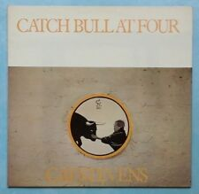 CAT STEVENS ~ CATCH BULL AT FOUR ~ 1972 UK 10-TRACK LP RECORD + LYRIC G/FOLD