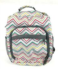 Thirty One Backpack Sling Bag Camera Diaper Bag Party Punch Chevron Pink New