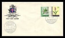 Iceland 1968 FDC, Flowers IV. Lot # 13.
