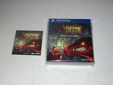 Unepic Limited Collector's Edition Sony PS Vita Sealed Import 500 Copies