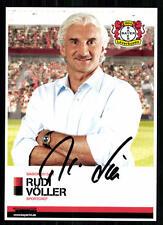 Rudi Völler Bayer Leverkusen 2013-14 ORIGINALE FIRMATO + a 87799