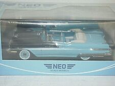 NEO Scale Models Pontiac Star Chief convertible black - blue NEO44062