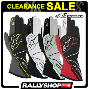 FIA GLOVES ALPINESTARS TECH 1-Z RACE Rally Motorsport Guantes SALE! STOCK