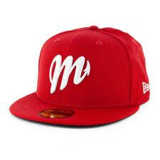 New Era 5950 Mexico City Diablos Rojos del Mexico Fitted Hat (Scarlet Red) Cap