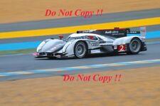 Fassler & Lotterer & Treluyer Audi R18 TDi Winners Le Mans 2011 Photograph 12