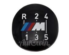BMW E30 E28 E24 M 5-Speed Shift Gear Knob Badge Emblem NEW OEM 25111221616