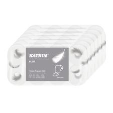 48 Rollen Toilettenpapier Klopapier WC-Papier 250 Blatt 3-lagig Premium hochweiß