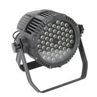 IP65 Waterproof DJ Par 64 LED Stage Lighting RGBW DMX512 Party Light 8CH
