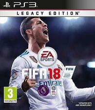 PS3 FIFA 18 Legacy Edition PS3 Comme neuf-livraison Super Rapide