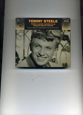 TOMMY STEELE - THREE CLASSIC ALBUMS PLUS SINGLES AND EP TRACKS - 4 CDS - NEW!!