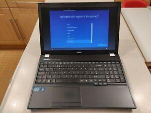 ACER TravelMate 5760 Laptop - Windows 10 Pro - 8GB Ram, 480GB SSD, i5-2450M CPU