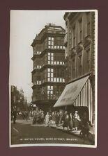 Glos Gloucestershire BRISTOL Wine St Dutch House Hallets 1946 RP PPC