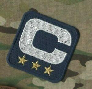 2020-21 Saison CAPITAINE Jersey 3 GOLD  ⭐ Star Captains Bleu Marine