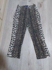 Vunic Damen Hose mit Leoparden Muster XL 42