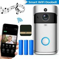 NEW Wireless Smart Music DoorBell WiFi VideoPhone  Door Bell Two-Way Talk Camera