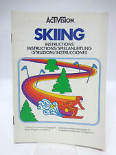 Anleitung - Handbuch - Bedienungsanleitung Atari - Skiing